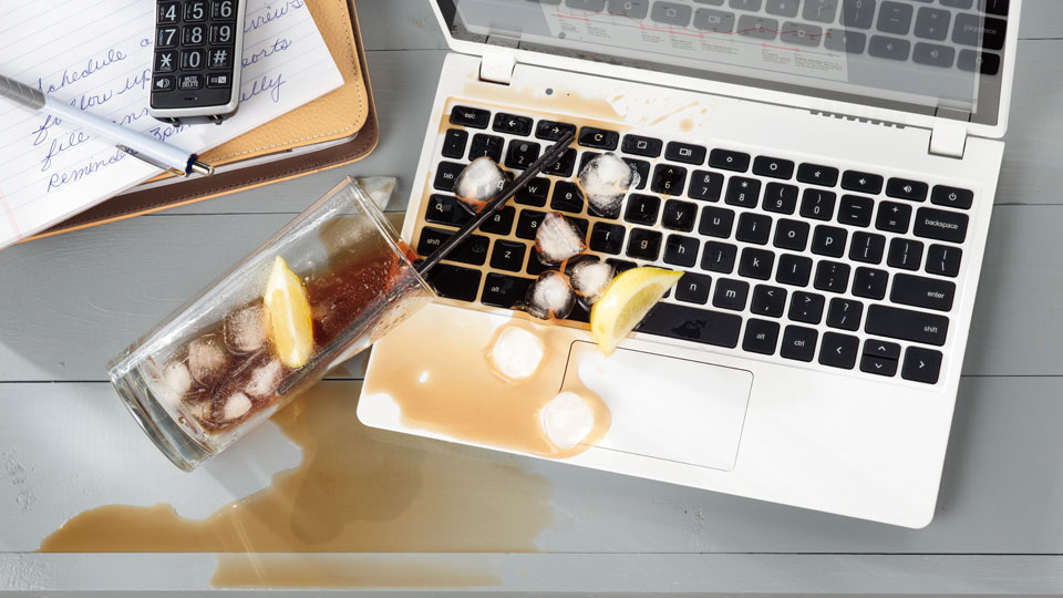 cleaning laptop and smartphone spills and stains bio home by lam soon